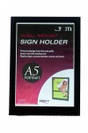 Black Border A5 Portrait - Sign Holder