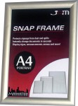 SILVER STANDARD SNAP FRAME - A4