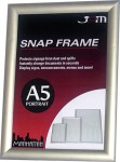 SILVER STANDARD SNAP FRAME - A5