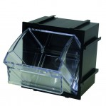 LINK-A-BIN STORAGE SYSTEM - BLACK - SMALL
